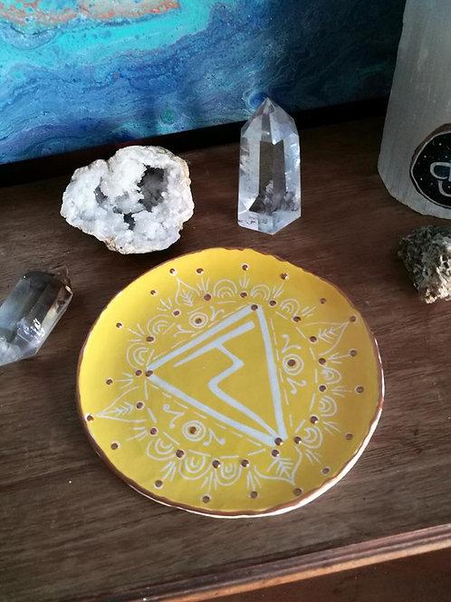 Sacred Soul Chakra Dish - Solar Plexus