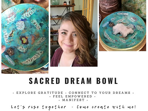 Create a Sacred Dream Bowl