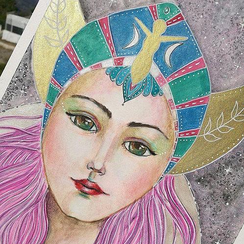 Divine Goddess : original Painting