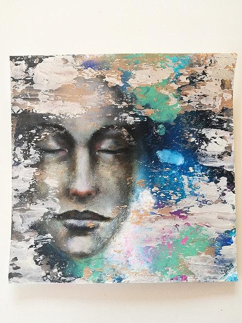 original painting inner silence