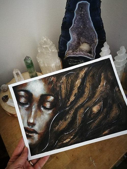 Original painting soul healing
