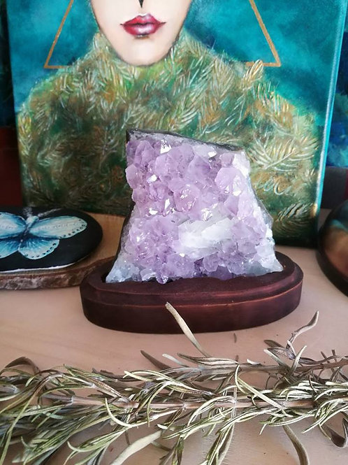 Amethyst Cluster reserved for christie