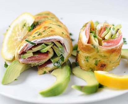 Herb Egg Wrap - 3 Marvellous Ways