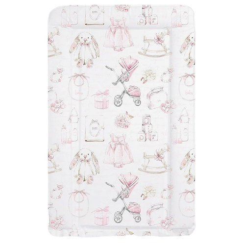Baby Girl Changing Mat, Pink, Vintage, Dior, Boss