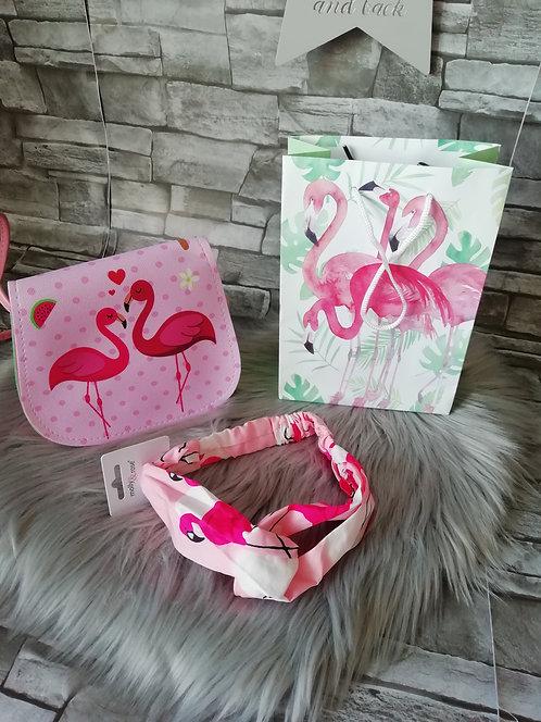 Flamingo 2pcs Gift Set
