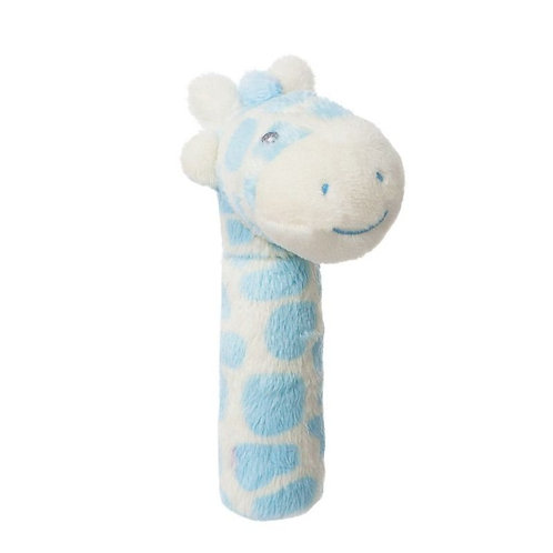 Gigi Giraffe Blue Stick Rattle