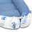 Baby Nest, Blue Baby Boy Sleeping Pod , Car Print