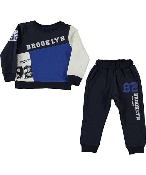 Brooklyn Tracksuit (Slim Fit) Cobalt Blue