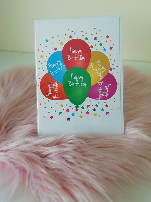 Happy Birthday (Balloons)