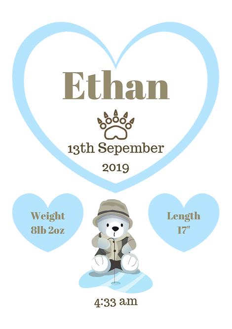 Birth Metric - Ethan Design