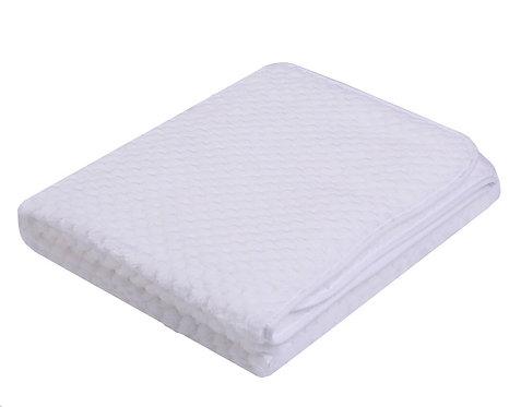 Plain White Super soft Baby Blanket
