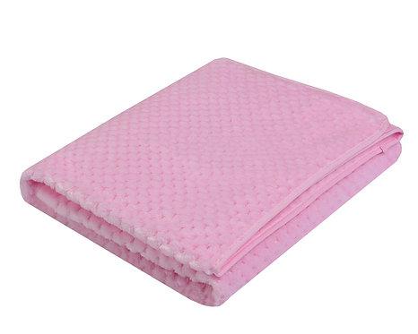 Plain Pink super soft Baby Blanket
