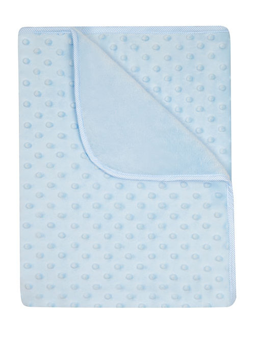Plush Baby Blue Blanket
