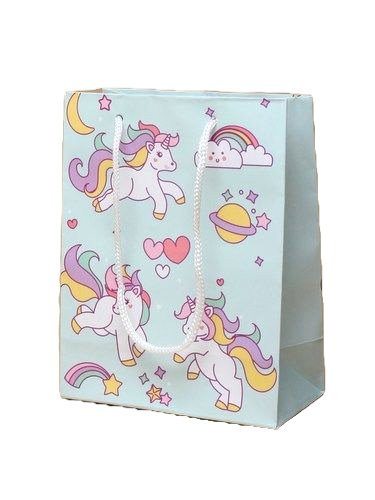Unicorn & Rainbow Gift Bag