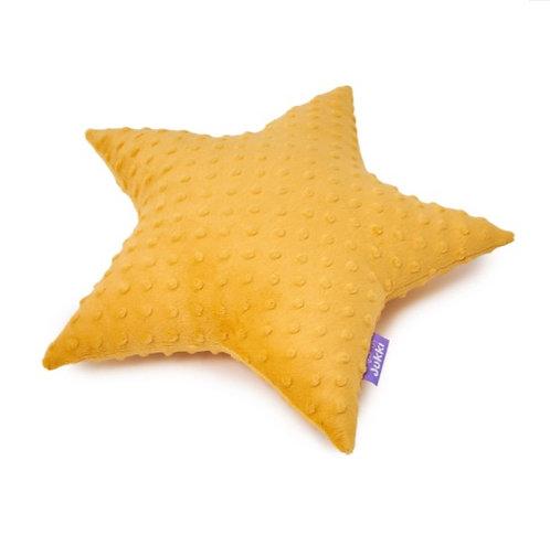 Star Cushion - Mustard