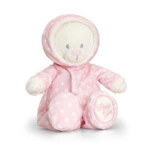 Pink Baby Bear in Romper