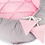 Baby Nest, Cocoon, Quilted, Pink, Grey