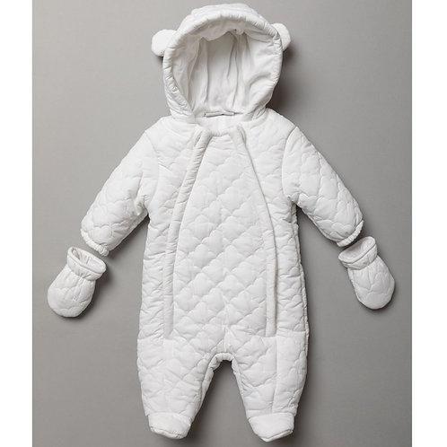 Baby Unisex Quilted Snowsuit