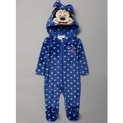 Baby All in one with mickey mouse, navy