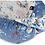 Baby Sleeping Pod, Baby Nest, Baby Bedding, Blue, Navy, Printed, Dream Catcher fabric