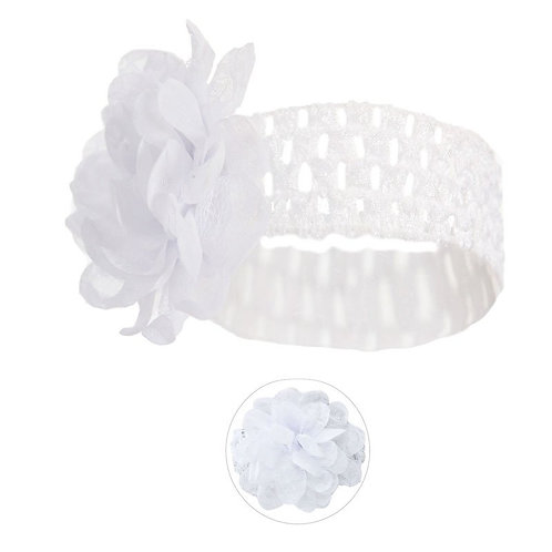Lace Headband  with Lace Flower