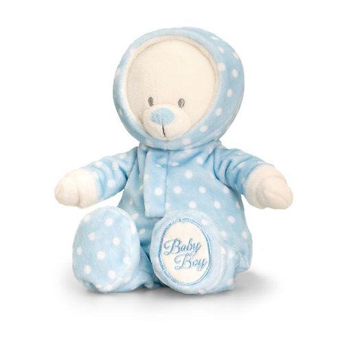 Blue Baby Bear in Romper