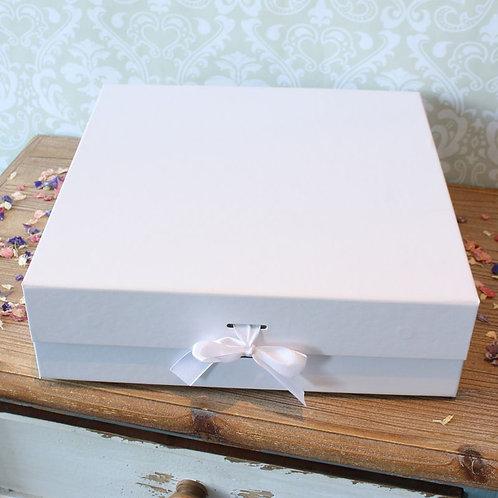 Large keepsake Box (White)