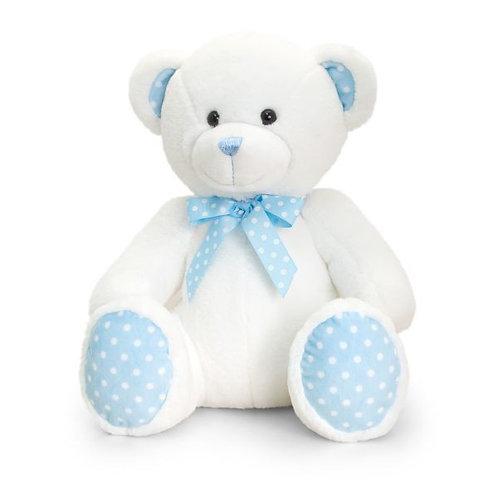 Blue Baby Spotty Bear