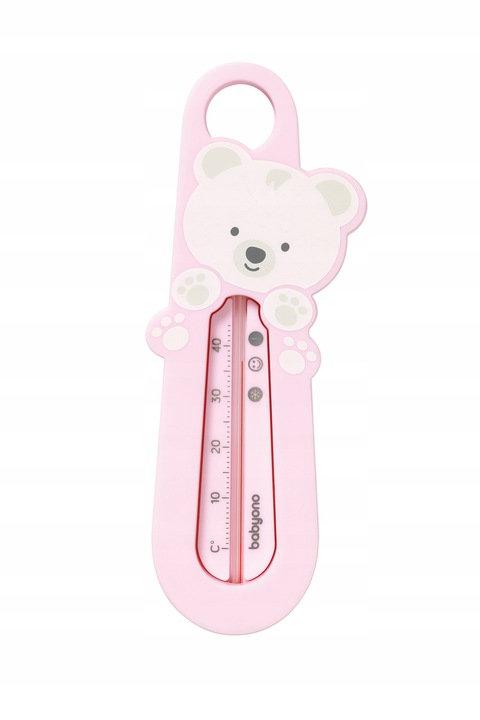 Baby Bath Thermomether, Pink Bear