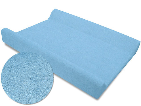 Sky Blue, Cot Changing Mat Cover, Fitted Sheet