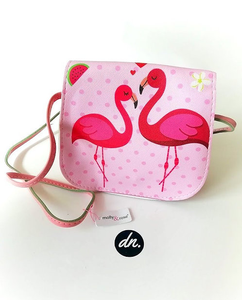 Flamingo Saddle Bag Crossbody