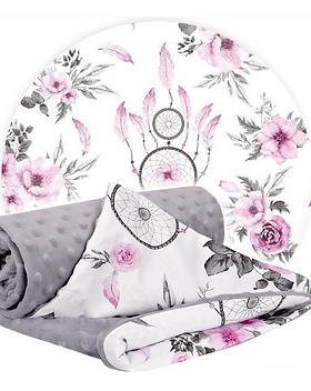 Baby-Blanket-Grey-Pink-Dream-Catcher.png