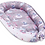 Baby Sleeping Pod, Cocoon, Bedding, white with Unicorn Print