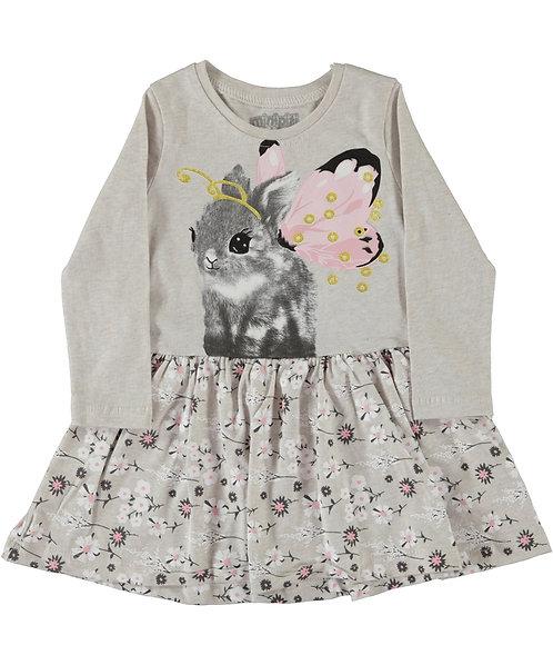 Girls bunny dress