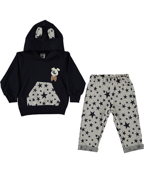 Baby Boy Tracksuit with star print