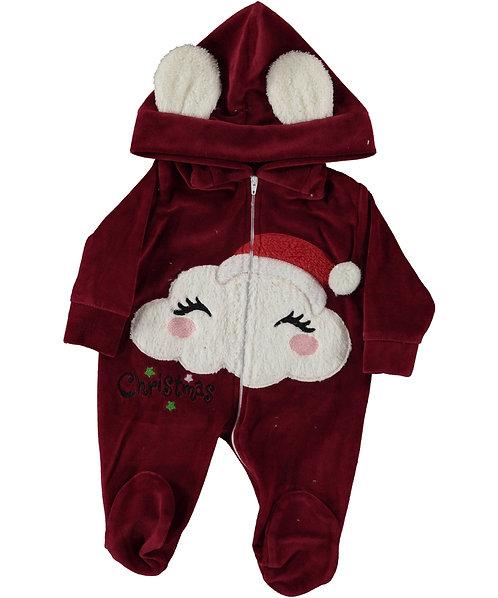 baby Christmas Sleepsuit