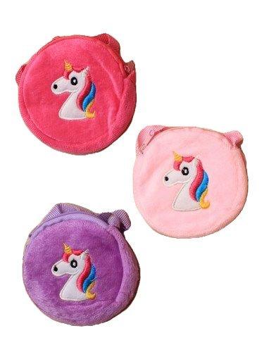 Round Unicorn zip purse / handbag