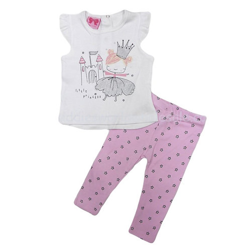 Fairy Princess T-Shirt & Legging Set