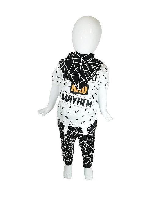 Baby Boys Mischief & Mayhem 3 Piece Outfit (6-18 Months)
