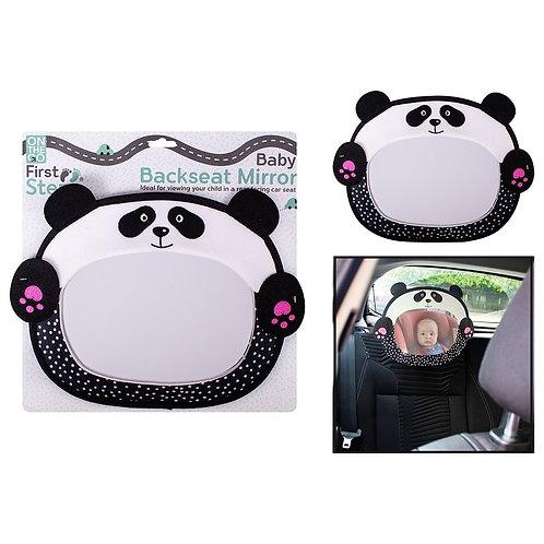 Baby Backseat Mirror, Panda