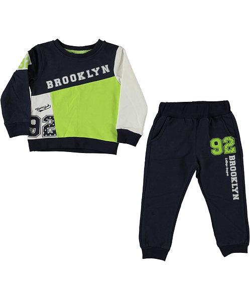 Brooklyn Tracksuit (Slim Fit) Lime