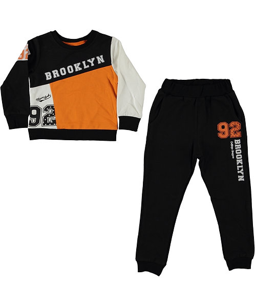 Brooklyn Tracksuit (Slim Fit) Orange