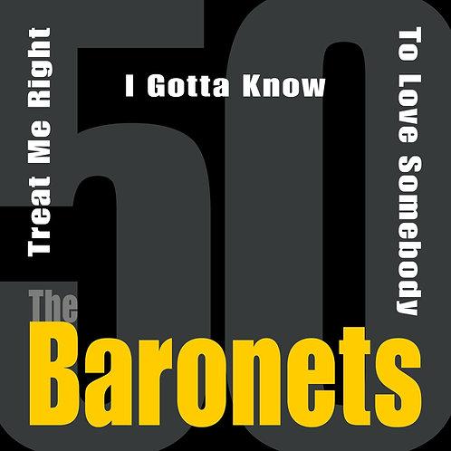 The Baronets - 50 (CD / Maxi Single)