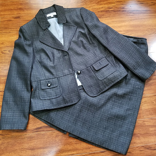 Two-Piece Skirt Suit