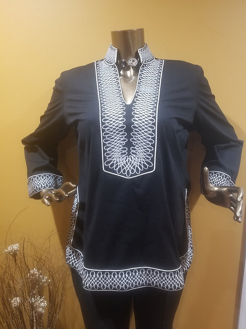 Black& White Tunic
