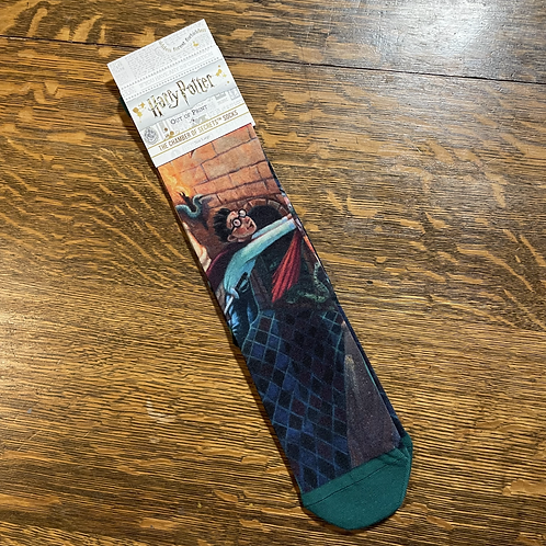 Chamber of Secrets Socks (by Out of Print)