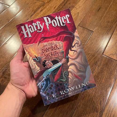 US Uncorrected Proof Chamber of Secrets