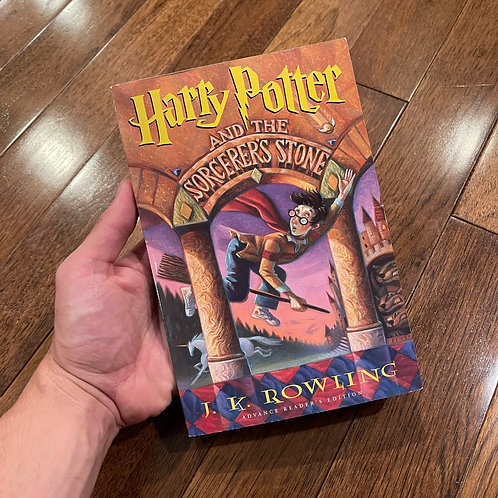 US Uncorrected Proof Sorcerer's Stone