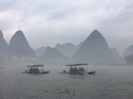 Sailing the Li River