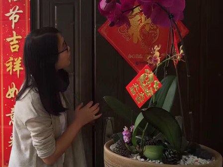 Decorating for the Spring Festival